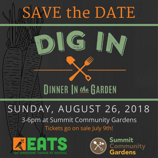 DIG IN 2018 - Save the Date