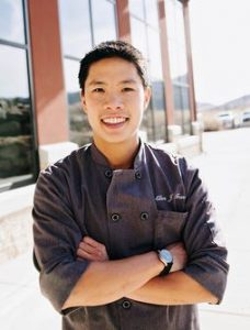 Chef Allen Tran at the Center of Excellence Photo: Sarah Brunson/USSA