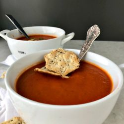 homemade Tomato Soup | www.eatsparkcity.org