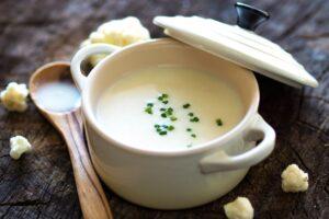 Cream of Cauliflower Soup - EATS Park City