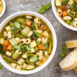 Spring Minestrone Soup - EATS Park City