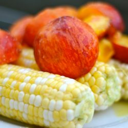 Peach and Corn