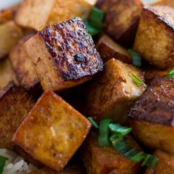 Sesame Marinated Tofu