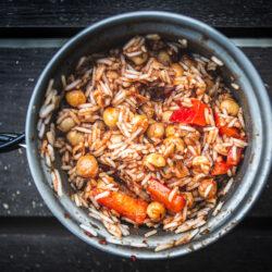 Arroz Picante con Tomate