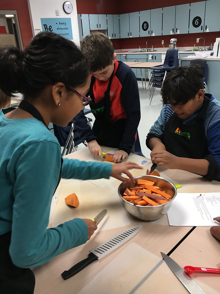 Cooking on a Budget with YSA for Ecker Students