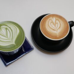 Pumpkin Spice Latte  with Coffee or Matcha