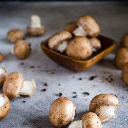 Mushroom Herbed Au Jus