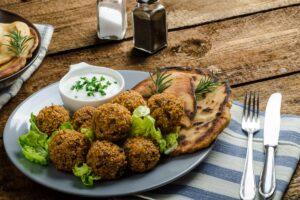 Crispy Baked Falafel - EATS Park City - OMAD
