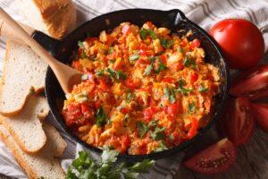 Mediterranean Beyond Breakfast Skillet - EATS Park City - OMAD