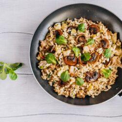 Mushroom Cauliflower Fried Rice - EATS Park City - OMAD