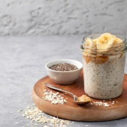 Peanut Butter and Jelly Chia Pudding - EATS Park City - OMAD