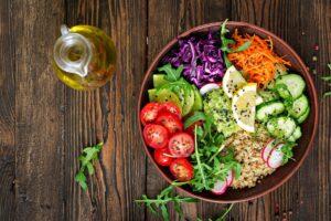 Vegan Quinoa Veggie Lunch Bowl - EATS Park City - OMAD