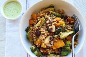 roasted-fall-veggie-bowl-green-tahini-sauce-eats-park-city-omad