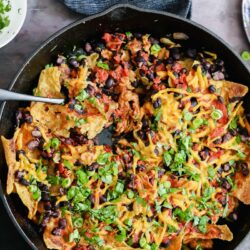 Vegan Skillet Enchiladas - EATS Park City - OMAD
