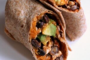 Sweet Potato and Black Bean Burrito - EATS Park City - OMAD