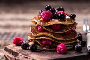 Vanilla Buckwheat Pancakes - EATS Park City - OMAD