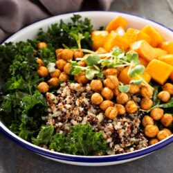 Vegan Kale and Chickpea Power Bowl - EATS Park City - OMAD