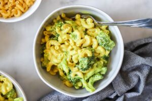 Vegan Mac and Cheese with Broccoli - EATS Park City - OMAD