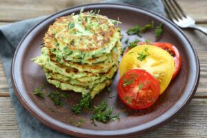 Zucchini Corn Fritters - EATS Park City - OMAD