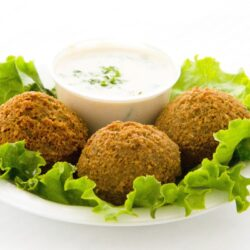 Lemon Tahini Sauce - Falafel - EATS Park City