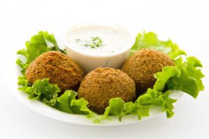 Lemon Tahini Sauce - Falafel - EATS Park City