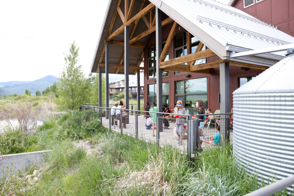 Homegrown EATS Camp at the Swaner EcoCenter