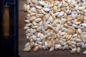 Baked Pumpkin Seeds - EATS Park City